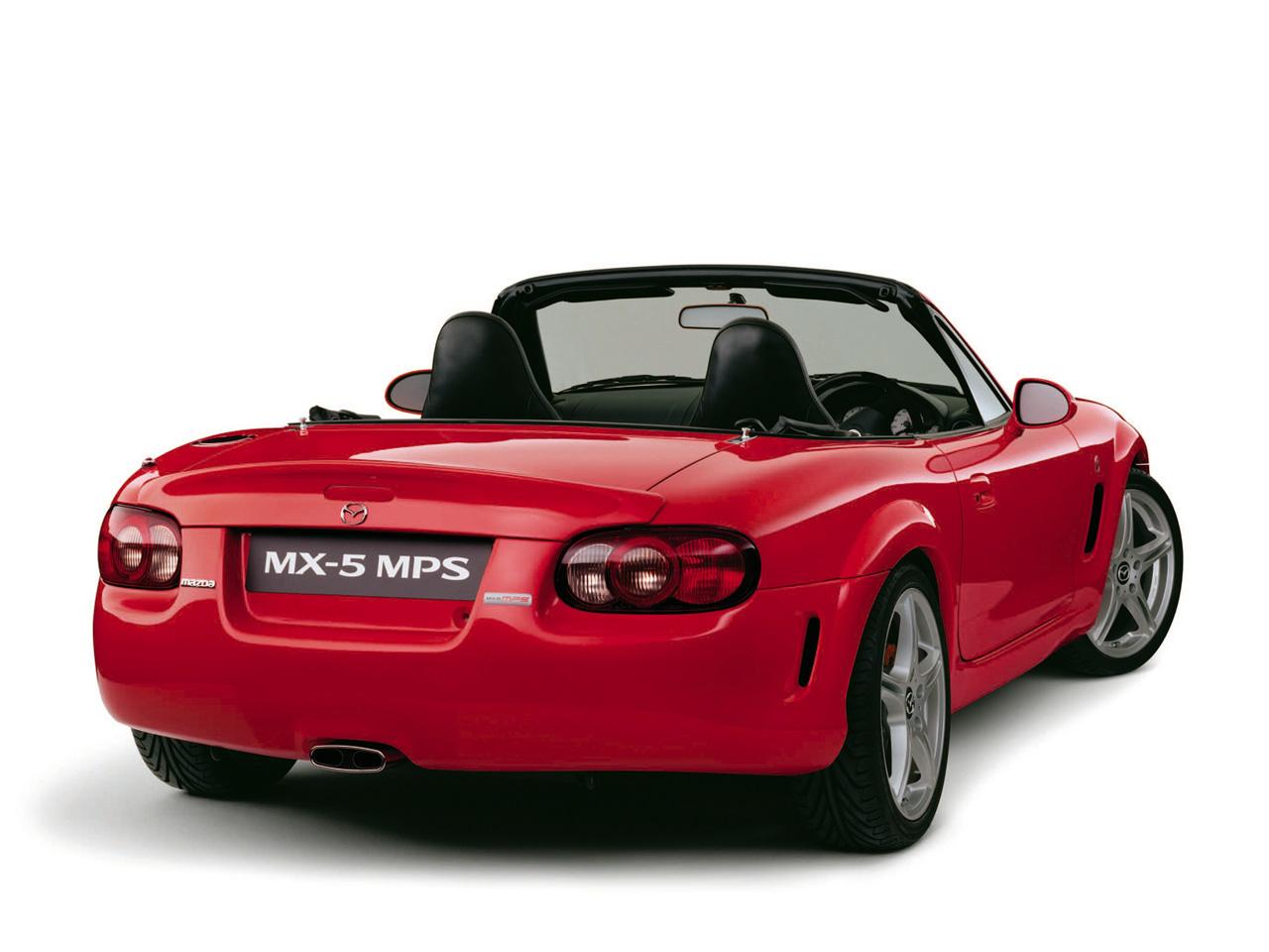 Mazda MX-5 MPS Concept, 日本車, スポーツカー, オープンカー, マツダ, NB, druga generacja