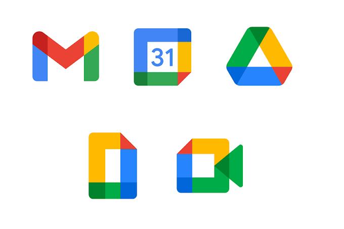Google Workspace Merilis Ikon Baru Untuk Gmail, Calendar, Drive, Docs Dan Meet