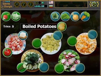 Salads Puzzle