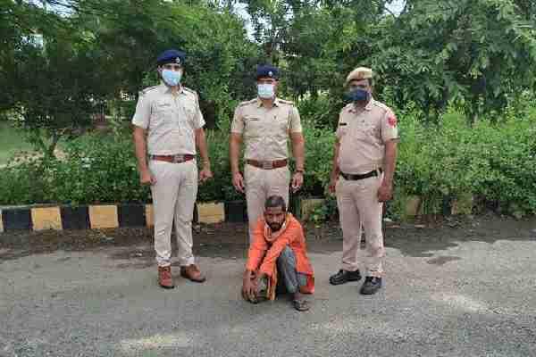 faridabad-sector-7-thana-police-arrested-murder-accused-sanjay-tunda