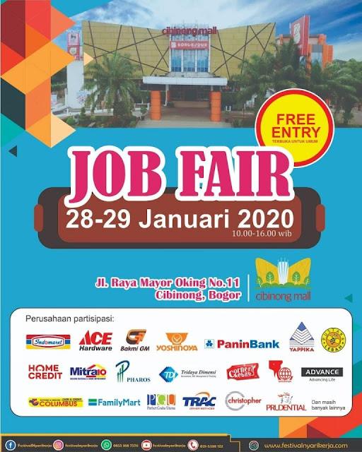Job Fair Bogor Tahun 2020