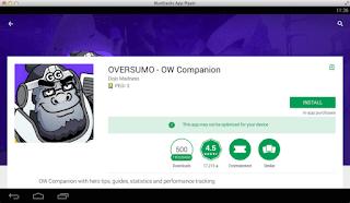 OVERSUMO App for PC