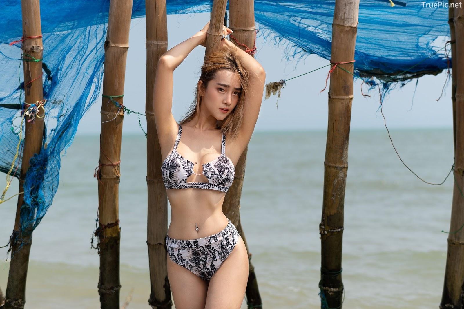 Thailand Hot Model - YingGy Ponjuree - Sea Vibes and Snakeskin Bikini - TruePic.net - Picture 10