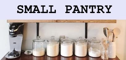 Pantry Rack Buatan Sendiri