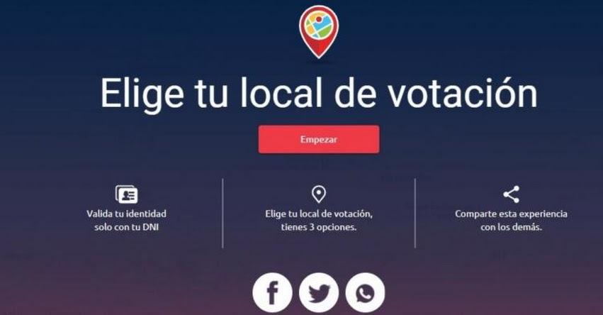 ELECCIONES 2021: ONPE inició envío por correo electrónico confirmación de locales de votación