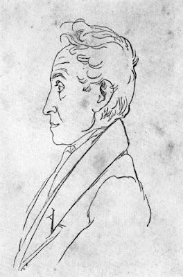 Pintura de Simón Bolívar Lápiz sobre Papel 1828