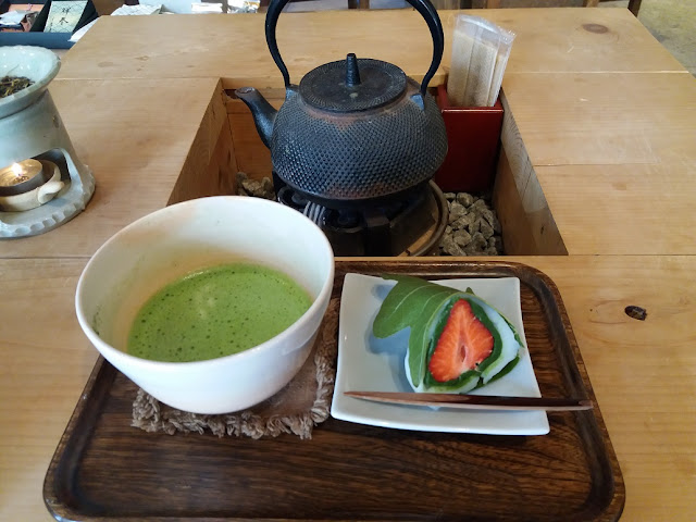 matcha cosa mangiare in giappone