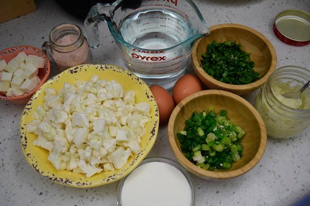 Ingredientes para la pizca andina