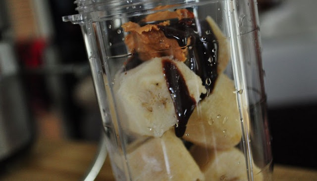 chocolate ice cream banana shake