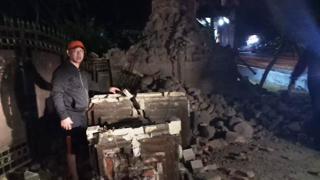 Rusak Parah, Begini Foto Kondisi Rumah Warga Sumenep Pasca Gempa Situbondo