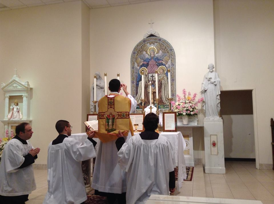 RORATE CÆLI: You report: First Mass of diocesan priest at