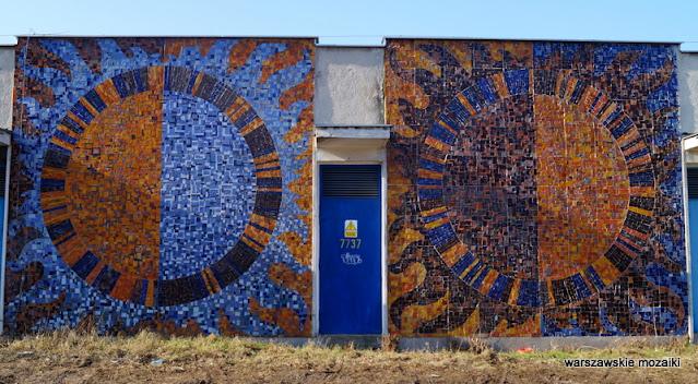 warszawskie mozaiki Warszawa Warsaw mosaic mosaics zniszczona destroy Ochota