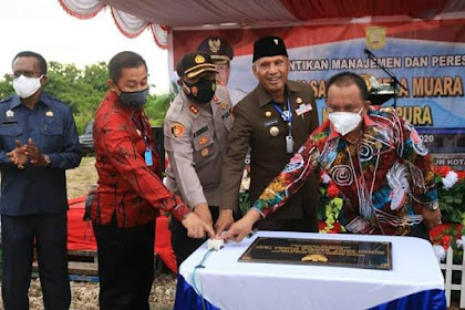 Kapolresta Dampingi Walikota Resmikan Rumah Sakit Ramaela Kota Jayapura