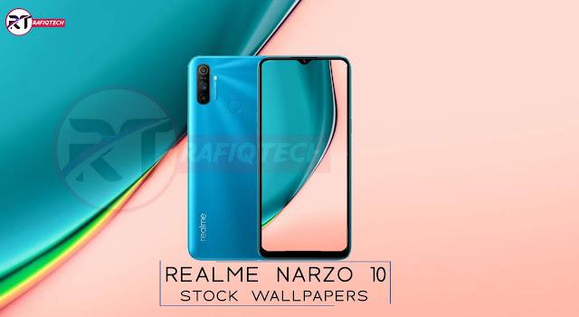 تحميل خلفيات  Realme Narzo 10 و Narzo 10A  الرسمية [عالية الجودة]