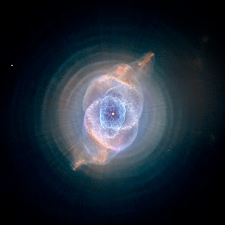 The Cat's Eye Nebula, as seen by the Hubble Space Telescope. NASA/ESA, public domain