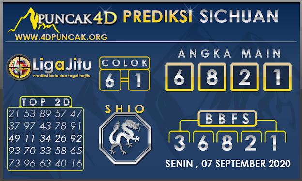 PREDIKSI TOGEL SICHUAN PUNCAK4D 06 SEPTEMBER 2020