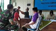 63 Orang jalani Skrining Katarak di Aula Kodim Batang