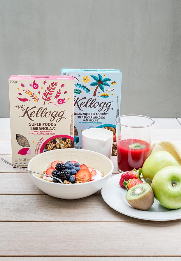 Probamos los nuevos cereales W.K. Kellogg