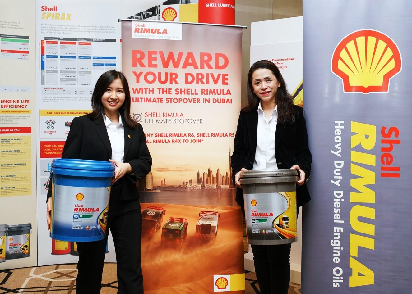 Amanda Shell motoring-malaysia: shell rimula contest - the shell rimula