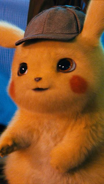 iphone detective pikachu wallpaper