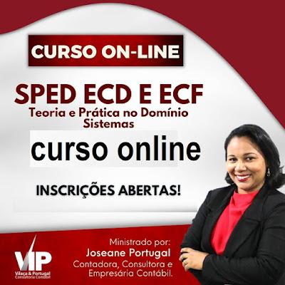 Curso Online APRENDA SPED (ECD E ECF) 2021 NA PRÁTICA