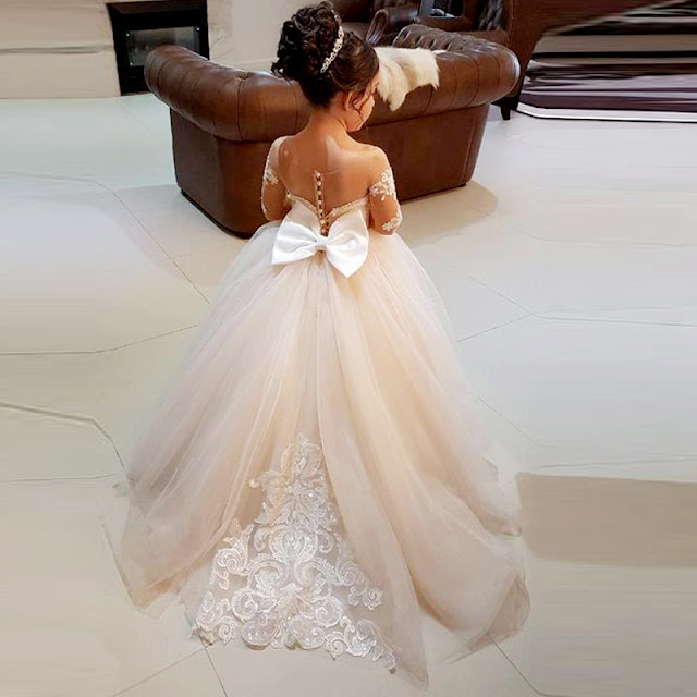 flower girl tulle