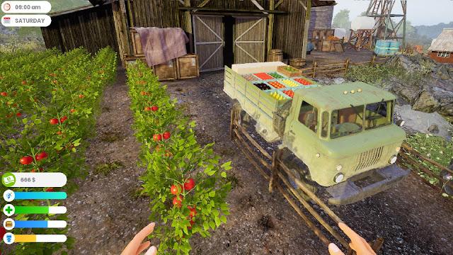 لعبة Farmer life simulator تحميل مجاني للكمبيوتر