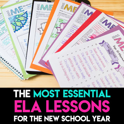 The Most Essential ELA Lessons for the New School Year