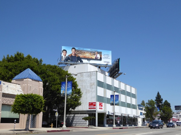 Grinder series premiere billboard