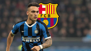 Barcelona to offer cash plus player for Inter striker Lautaro