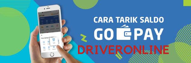 Cara Tarik Saldo Gojek Driver