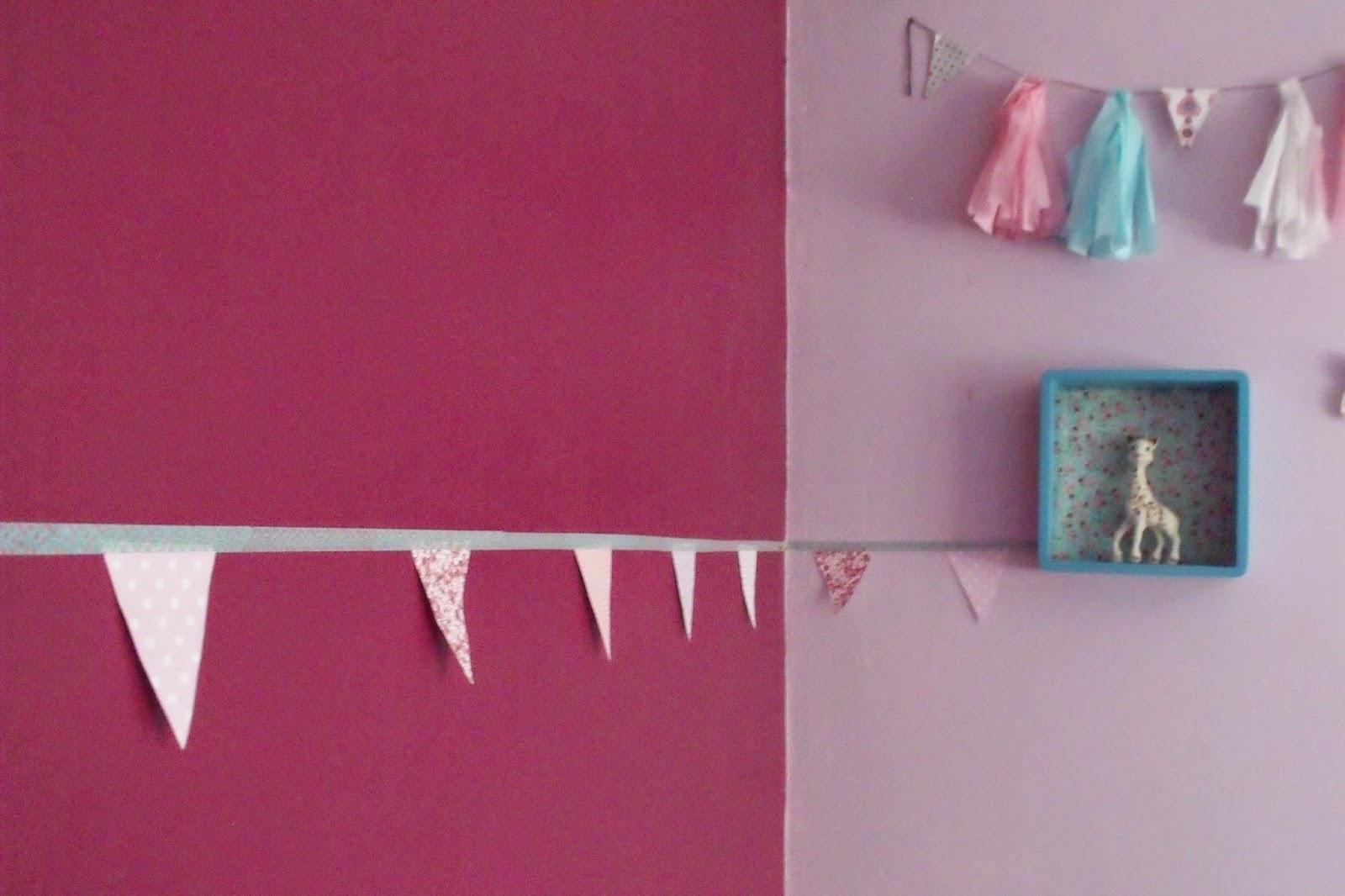 lili joue maman bricole guirlande fanions et masking tape. Black Bedroom Furniture Sets. Home Design Ideas
