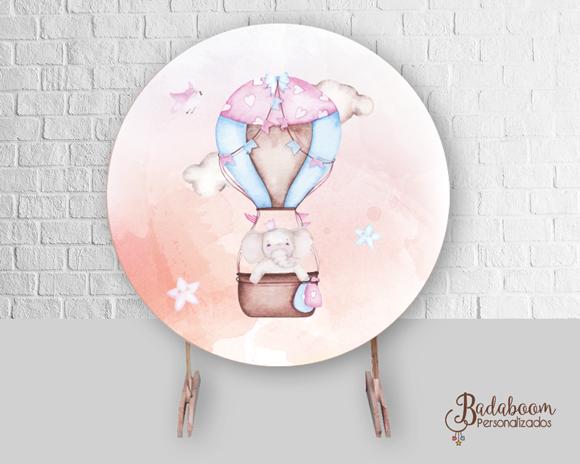 Balão, Elefanta, Chá de Bebê, Chá de Fraldas, arte digital, kit digital, arte personalizada, festa infantil