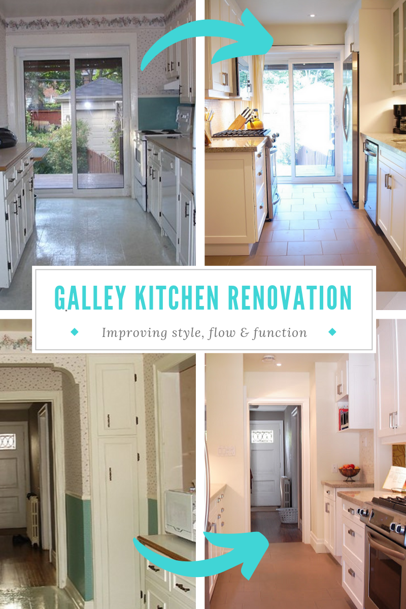 The Galley Kitchen Renovation Before And After Rambling Renovators