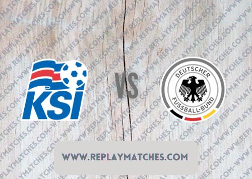 Iceland vs Germany Full Match & Highlights