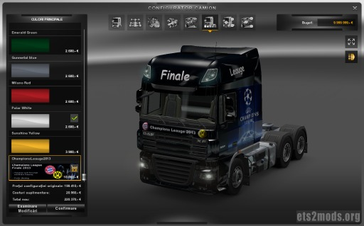 Champions League 2013 Skin for DAF