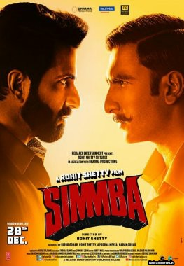 Simmba 2018 Full Hindi Movie BRRip 720p 480p 1080p Dwnload HD