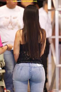 Chicas bonitas pantalon pegado