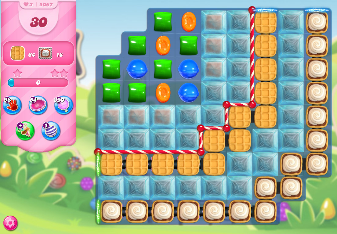 Candy Crush Saga level 5067