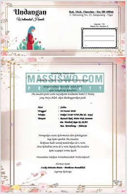 download undangan walimatul hamli cdr
