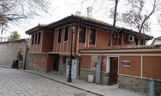 Casas del Casco histórico de Plovdiv.