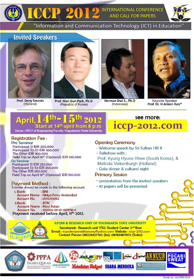 """International Conference and Call for Paper """"ICCP 2012"""""""