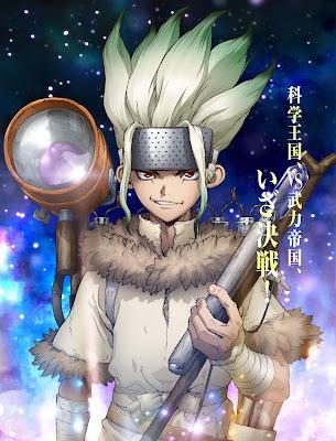 Anime: Primera imágen de la segunda temporada de Dr. Stone