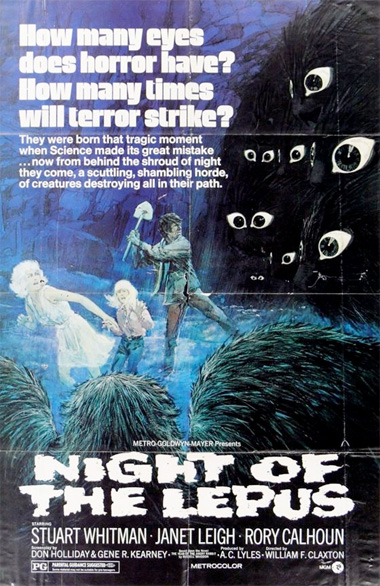 Poster - Night of the Lepus (1972)