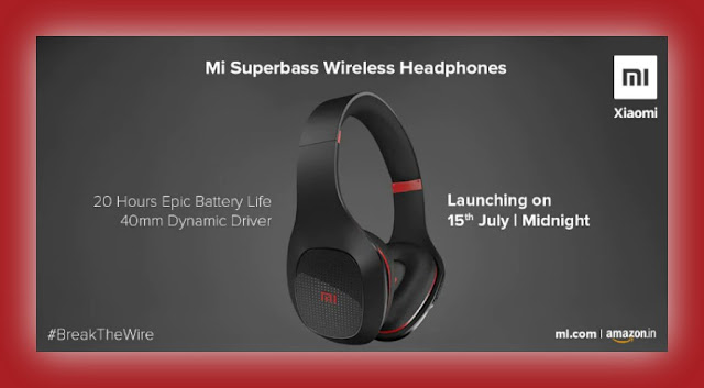 Best Pouplar Gadgets Mi Superbass Headphones Lunching On 15th July In India