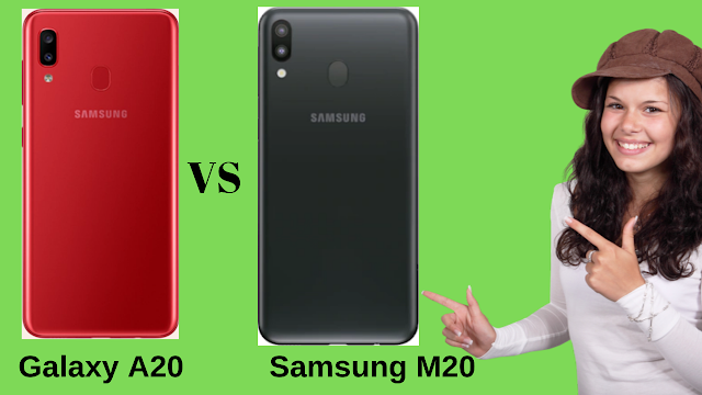 Comparison between Samsung m20 and a20