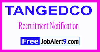 TANGEDCO Tamil Nadu Generation and Distribution Corporation Limited Recruitment Notification 2017 Last Date 09-06-2017