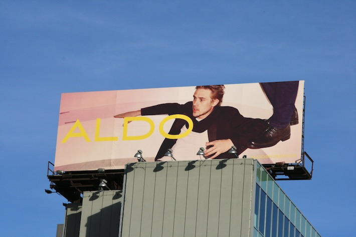 Boyd Holbrook Aldo Shoes S10 billboard
