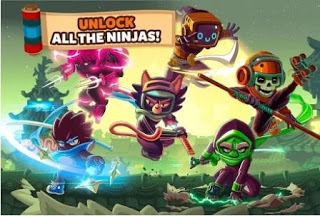 Download Ninja Dash v1.3.4 Apk Android Update 2018