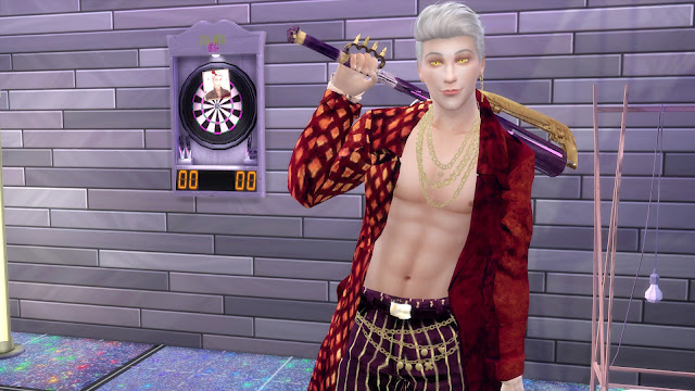 DBD Trickster Red Coat Recolor Sims 4 CC Download